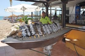 Pescaíto frito típico en Torremolinos